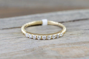 9 Diamond Bead Band