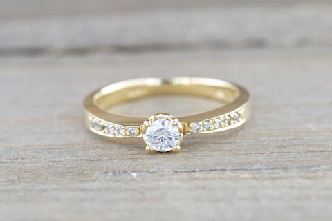 Yellow Gold Diamond Ring Closeout