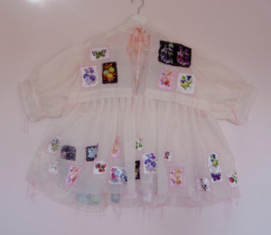 Deconstructed Babydoll Dress