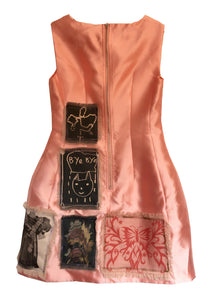 SS20 Patchwork Pink Upcycled Dress