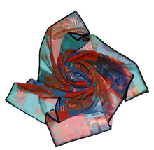 Cats Eye ~ Square Georgette Scarf ~ 2018 Collection