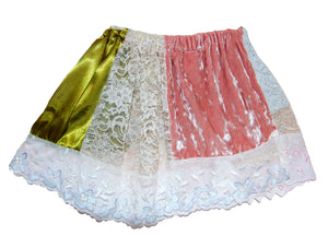 Patchwork Extreme Mini Skirt