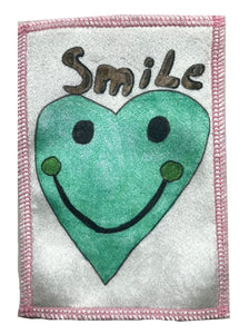 SMiLeY HeArTs Velvet Patch ~ Large