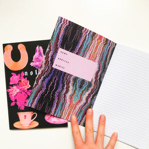 Squirrel Black Notebook ~ 2018 Collection