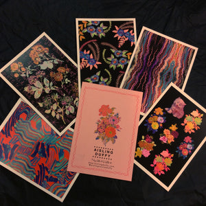 Pack Of 5 High Quality Postcards