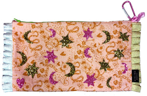 Princess & The Pea HandMade Eco~Cotton Long ClutchBag
