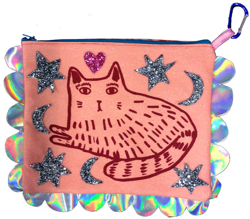 I Never Was Your Boyfriend HandMade ClutchBag