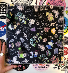 Confetti Collage Velvet Back Patch ~ XXL