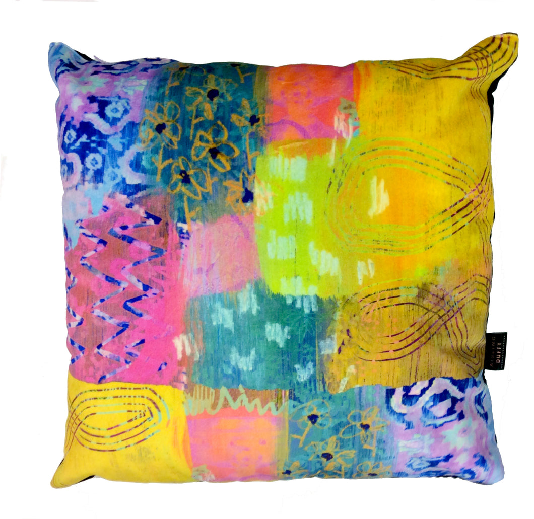 Irish Ardagh Chalice HandMade Velvet Cushion