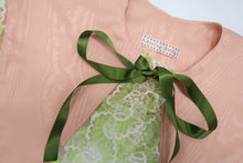 Lavender & Orange Receipt ~ Silk Twill Printed Square Scarf  **Last Chance To Buy**