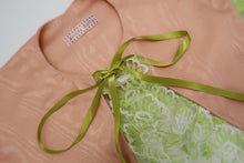 Pink & Green Barbed Wire ~ Wool Delaine Printed Scarf  **Last Chance To Buy**
