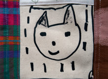 Smiley Kitty Collage Patchwork  ~ M/L