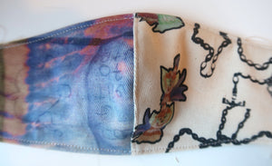 Double Fairy Collage Patchwork  ~ S/M