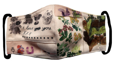 I Love You Floral Collage Patchwork  ~ S/M