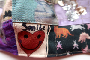 Handmade Smiley Heart Patchwork ~ M/L