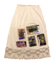 Sequinned Vintage Skirt