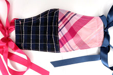 Pink & Blue Check Patchwork
