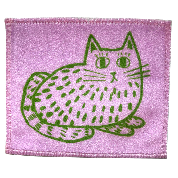 Lazy Cat Handmade Velvet Patch