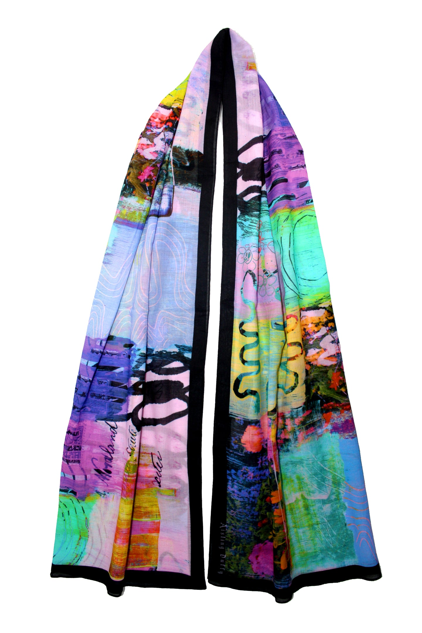 Long Distance Love ~ Oversized Long Scarf