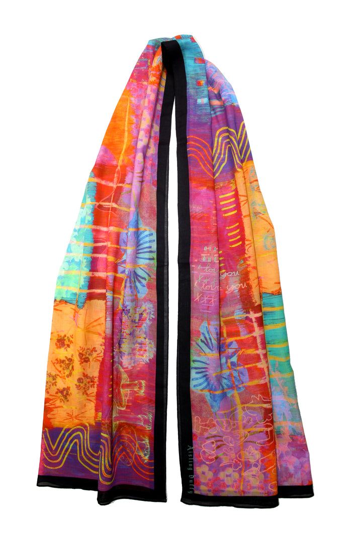 Dying To Get You Dizzy ~ Oversized Long Scarf