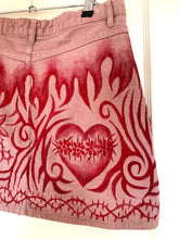 Handpainted Pink Skirt