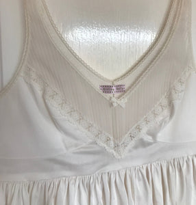 Cream Lace Vintage Top