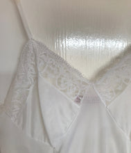 White Transparent Lace Vintage Top UK 6 - 10