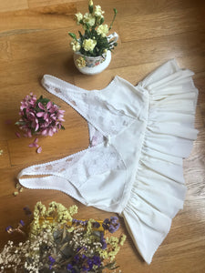 Ivory Lace Vintage Top