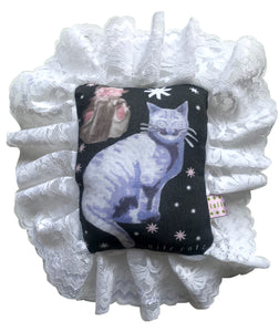 Nite Catz Ruffle Mini Cushion