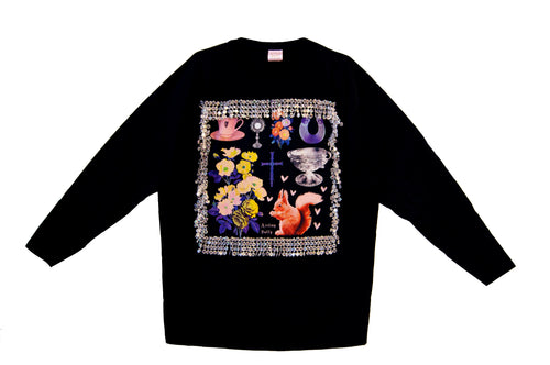 An Irish Garden Crystal Long Sleeve