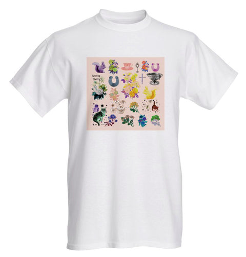 An Irish Garden ~ Printed Cotton T-Shirt