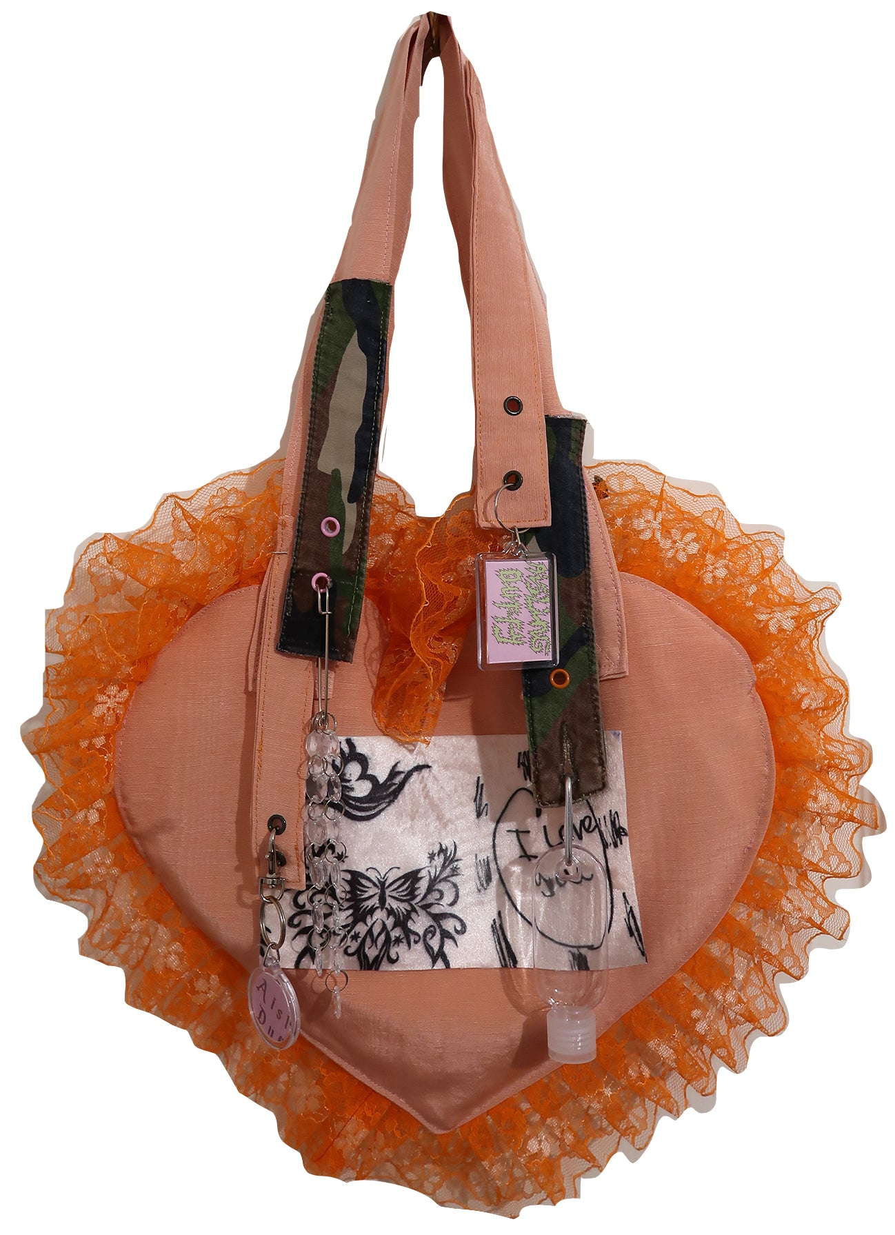 Butterfly Peachy Ruffle Bag ~ AW20 Drop