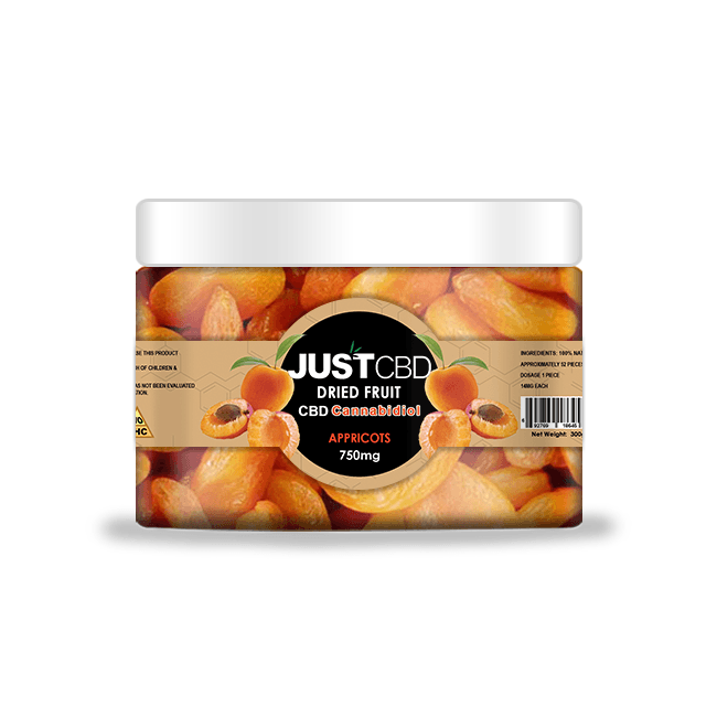 CBD Dried Fruit 750mg Jar