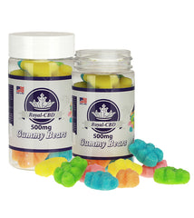 Neon Gummy Bears 500mg
