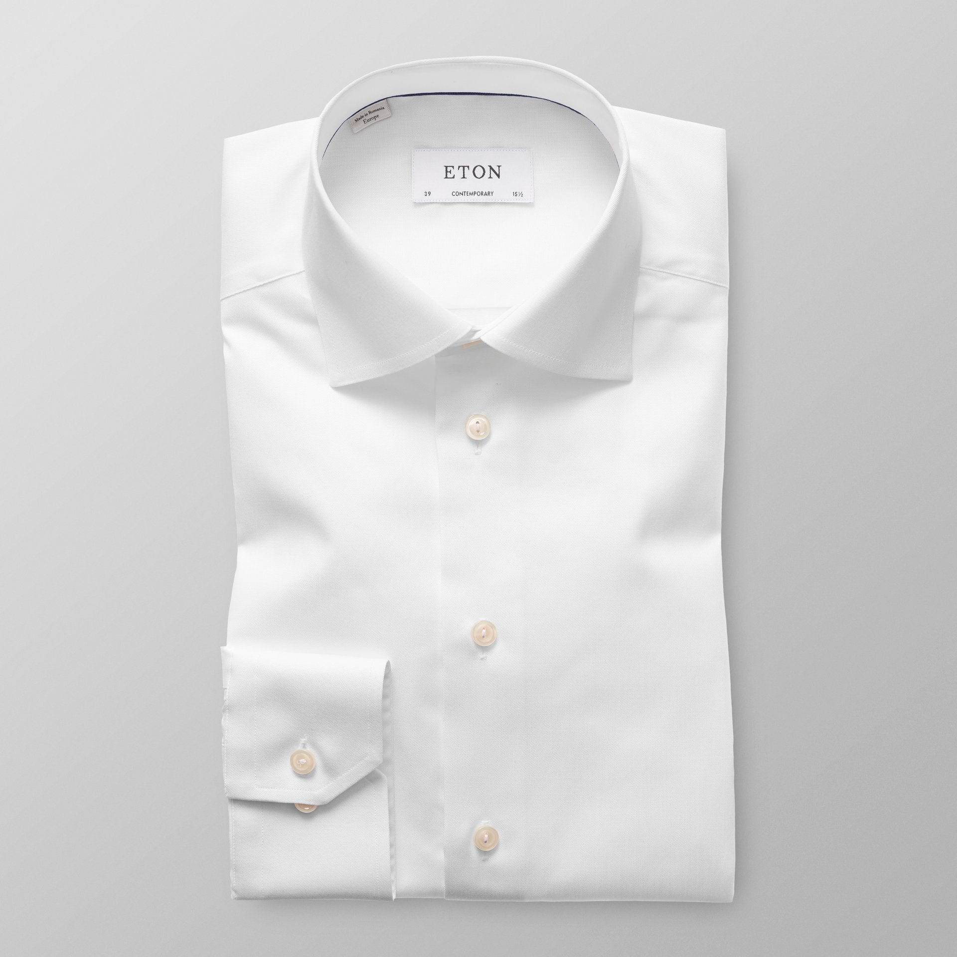 14½ Contempo White Signature Twill Shirt