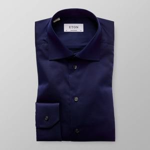 Navy Signature Twill Shirt