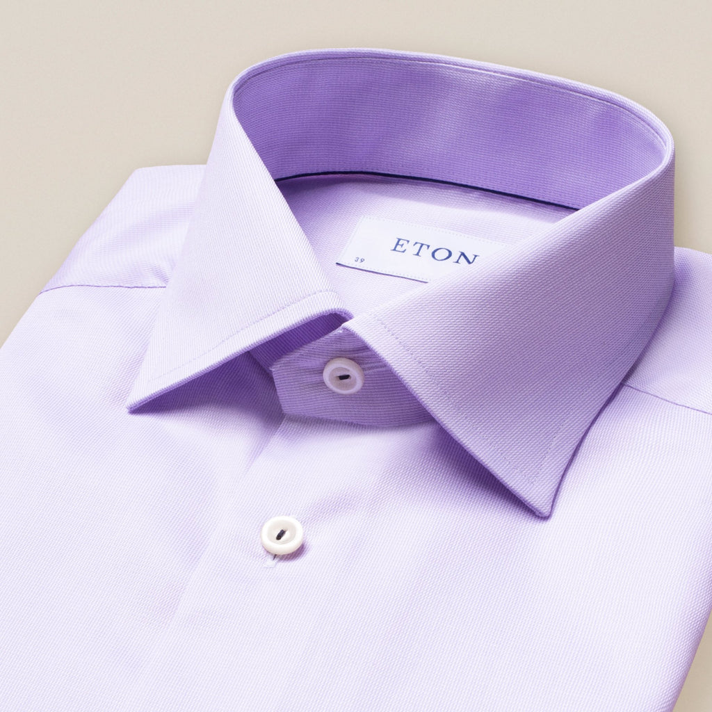 Contemporary Purple Royal Twill Shirt