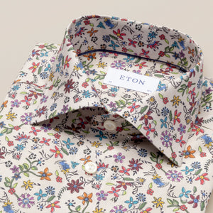 Beige Valley of Flowers shirt