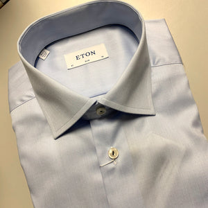 Light Blue Twill Shirt