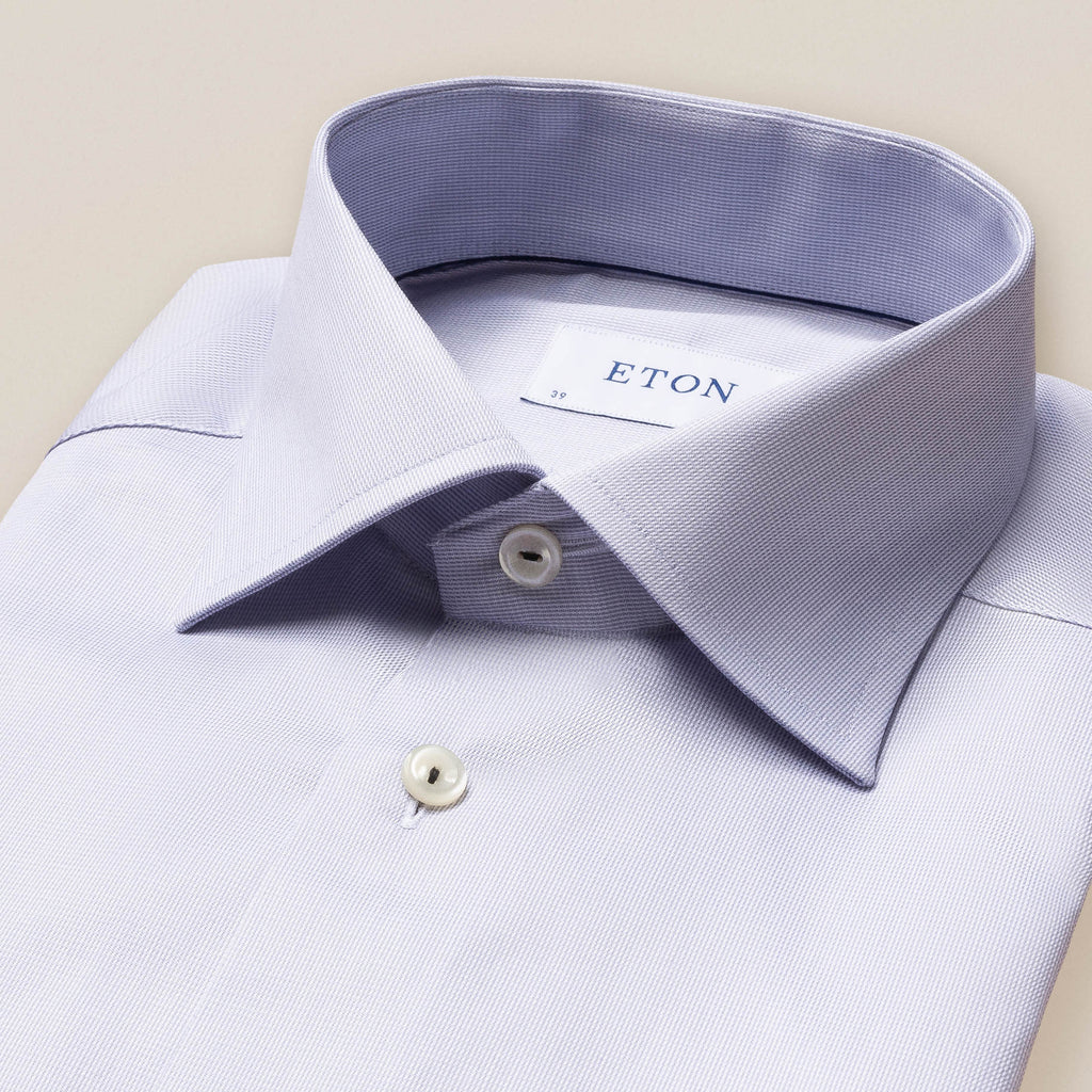 Slim Grey Royal Twill Shirt