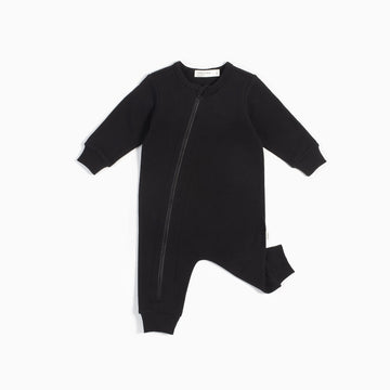 Miles Baby - Baby Playsuit Knit - Black