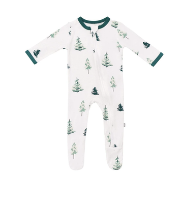 Kyte baby - Zippered Footie - Tree