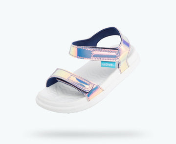 Native - Charley Hologram - pink hologram / shell white