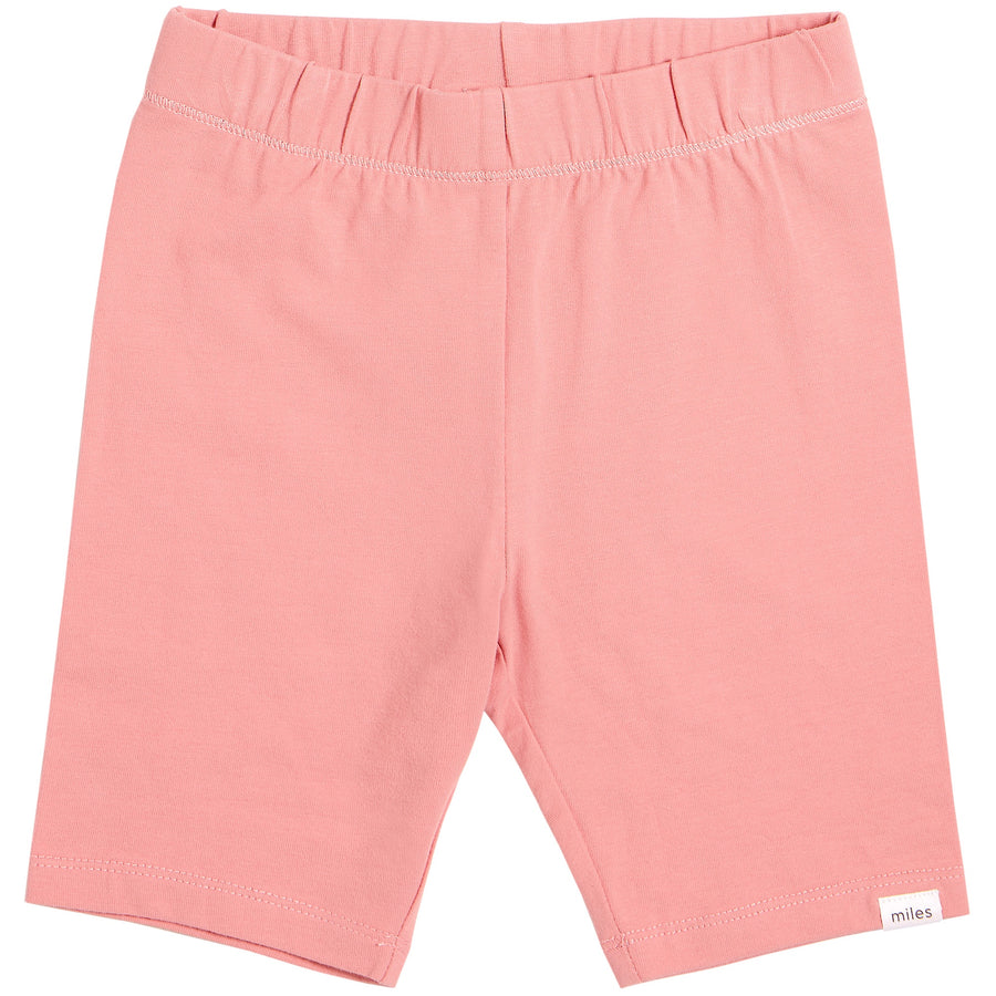 Miles Baby - Sky Biker Shorts (Coral)