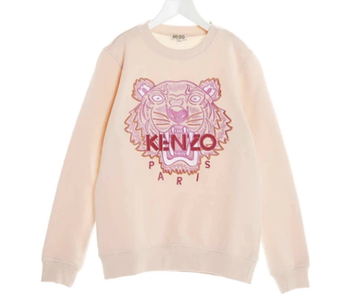 Kenzo - Pink Tiger Long sleeve Sweater