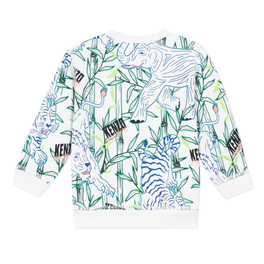 Kenzo - Jake Babyboy Disco Jungle logo sweater