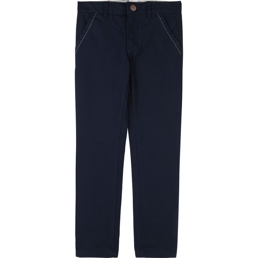 Carrement Beau - Navy chino trousers