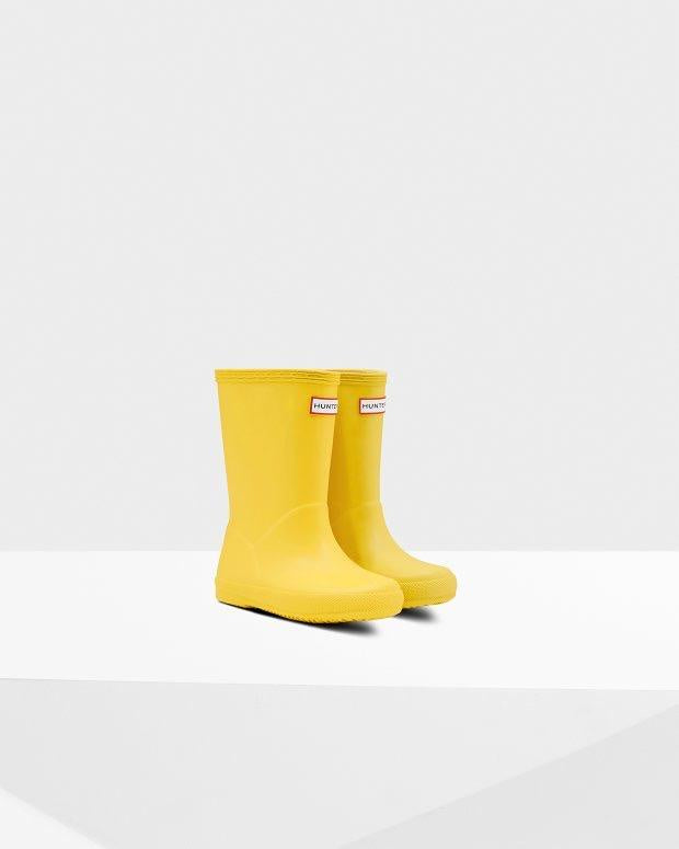 Hunter - Kids first classic - Lightening Yellow
