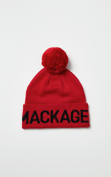 Mackage - Merino knit hat (red)