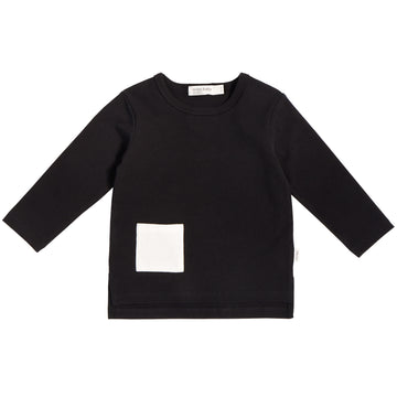 Miles Baby - L/S Shirt Knit (Black)